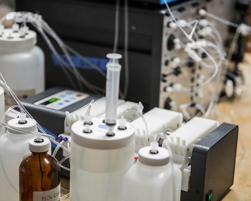 autoanalyzer peristaltic pump
